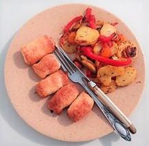 feuilletés - légumes rôtis